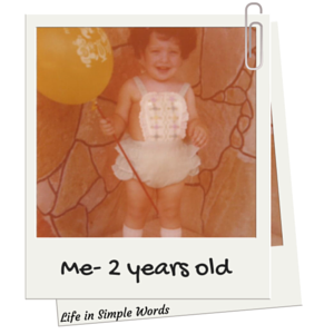 Me- 2 years old