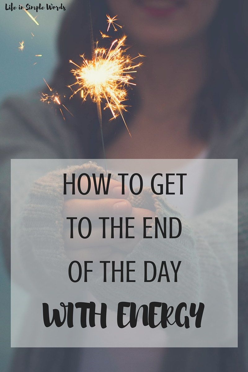 One I discovered that I am in control of my energy and it is in my ability to create it more in my life, things started to shift for me. I decided to make a list of the ways that I found to generate more energy