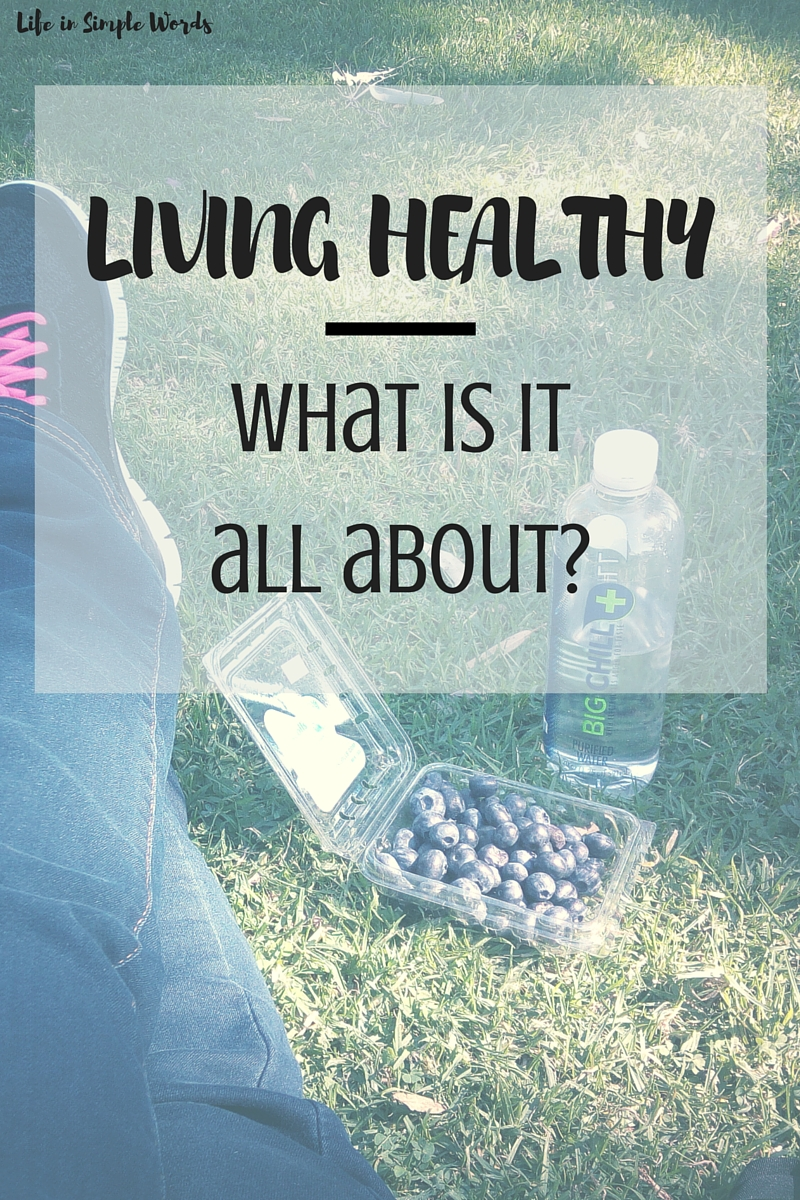 When talking about healthy living, we usually connect it with eating and exercising. For me, it is so much more.
